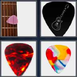 4 pics 1 word 8 letters guitar