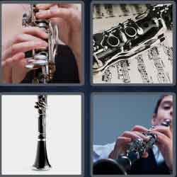 4 pics 1 word 8 letters musical instrument of air