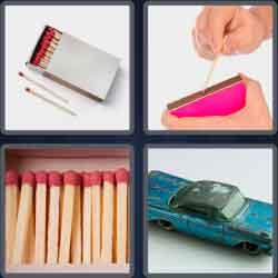 4 pics 1 word 8 letters matchbox