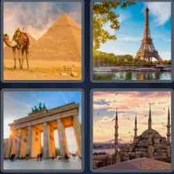 4 pics 1 word 8 letters monument