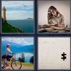 """4 pics 1 word 8 letters overlook"""" width="""