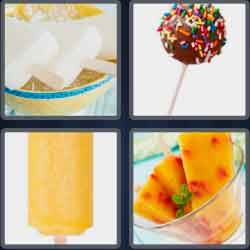 4 pics 1 word 8 letters popsicle