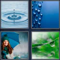 "4 pics 1 word 8 letters raindrop"" width="