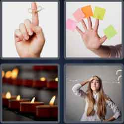 4 pics 1 word 8 letters remember