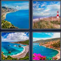 4 pics 1 word 8 letters seacoast