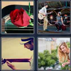 4 pics 1 word 8 letters serenade