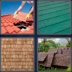 4 pics 1 word 8 letters shingles