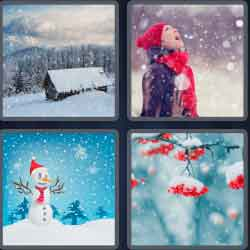 4 pics 1 word 8 letters snowfall