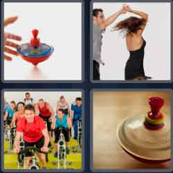 4 pics 1 word 8 letters spinning