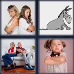 4 pics 1 word 8 letters stubborn