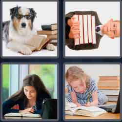 4 pics 1 word 8 letters studious