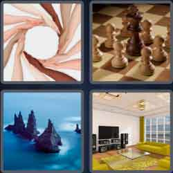 4 pics 1 word 8 letters surround