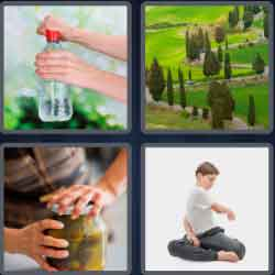 4 pics 1 word 8 letters twisting