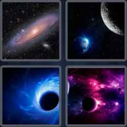 4 pics 1 word 8 letters universe