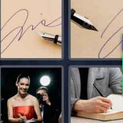 4 Pics 1 Word 9 Letters Autograph