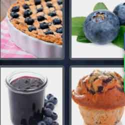 4 Pics 1 Word 9 Letters Blueberry