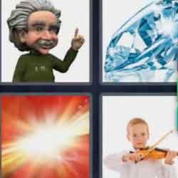 4 Pics 1 Word 9 Letters Brilliant