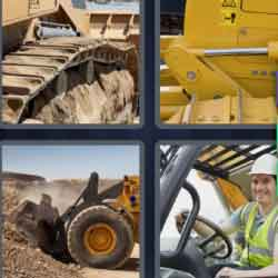 4 pics 1 word 9 letters answers easy search updated 2018 bulldozer expocarfo Images