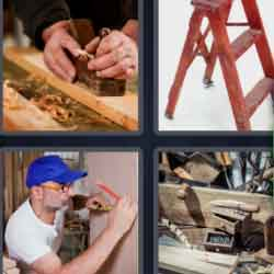 4 Pics 1 Word 9 Letters Carpentry