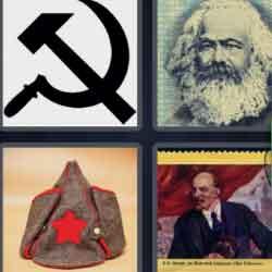 4 Pics 1 Word 9 Letters Communism