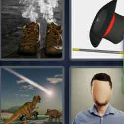 4 Pics 1 Word 9 Letters Disappear