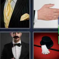 4 Pics 1 Word 9 Letters Gentleman