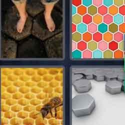 4 Pics 1 Word 9 Letters Hexagonal