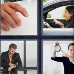 4 Pics 1 Word 9 Letters Impatient