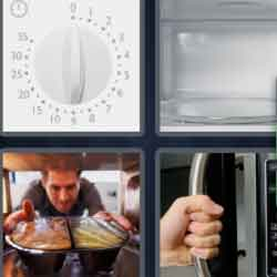 4 Pics 1 Word 9 Letters Microwave