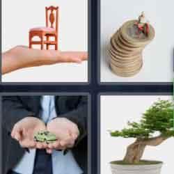 4 Pics 1 Word 9 Letters Miniature