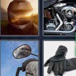 4 Pics 1 Word 9 Letters Motorbike