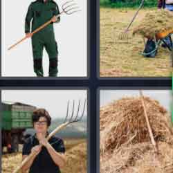 4 Pics 1 Word 9 Letters Pitchfork