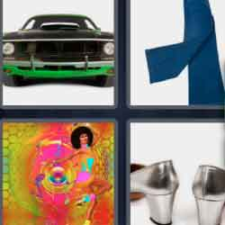 4 Pics 1 Word 9 Letters Seventies
