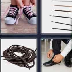 4 Pics 1 Word 9 Letters Shoelaces