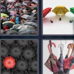 4 Pics 1 Word 9 Letters Umbrellas