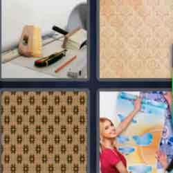 4 Pics 1 Word 9 Letters Wallpaper