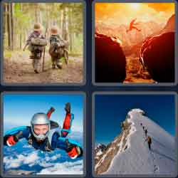4 Pics 1 Word 9 Letters Adventure