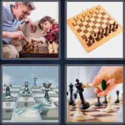 4-pics-1-word-9-letters-checkmate