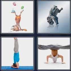 4-pics-1-word-9-letters-headstand