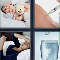 4 Pics 1 Word 9 Letters Influenza
