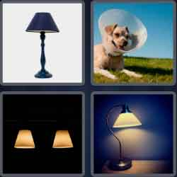 4-pics-1-word-9-letters-lampshade