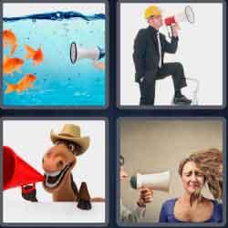 4-pics-1-word-9-letters-megaphone
