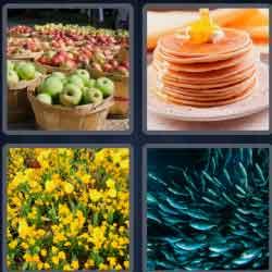 4 Pics 1 Word 9 Letters Plentiful