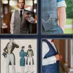4 Pics 1 Word 9 Letters Waistcoat