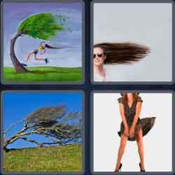 4 pics 1 word wind