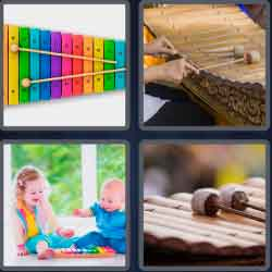 4-pics-1-word-9-letters-xylophone