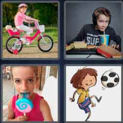 4 Pics 1 Word 9 Letters Youngster
