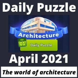 4 pics 1 word Daily Puzzle April 2021