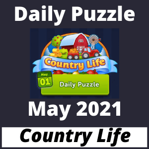 Daily Puzzle May 2021